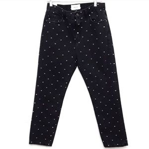 Current / Elliot |NWT High Rise Cropped Slim Jeans